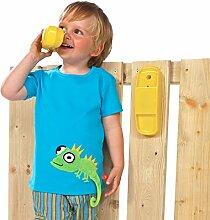 Telefon gelb - Zubehör Spielturm -