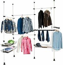 Teleskop Garderoben, Kleideraufbewahrungssystem,