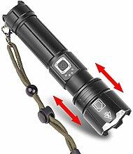 Teleskop Zoom Flashlight Usb Laden von Input- und