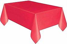 Telihome Kunststoff Einweg Tischdecke Einfarbig
