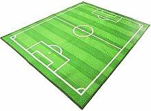 Tellaboull Fußball Fußballplatz Teppich Kinder