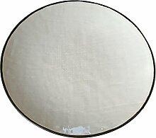 Teller Ø 22cm flach Porzellan Vintage Steingut