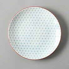 Teller,Geschirr,Porzellanteller 2 Stück