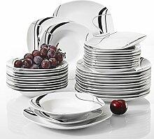Teller,Geschirr,Porzellanteller 36-Teiliges