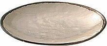 Teller Hessian - 22cm, beige natur - broste