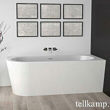 Tellkamp Pio XS L Eck-Badewanne mit Verkleidung L:
