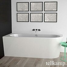 Tellkamp Pio XS R Eck-Badewanne mit Verkleidung L:
