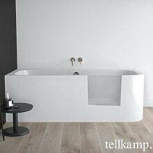 Tellkamp Salida Raumspar-Badewanne mit Duschzone
