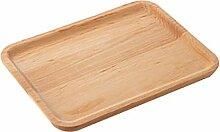 TELLW Holzpaletten Haushaltsuntertablett Kuchen