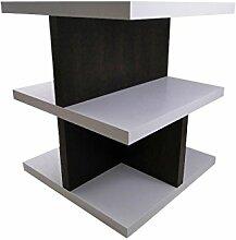 TemaHome Crest Bücher-Regal Raumteiler Büroregal