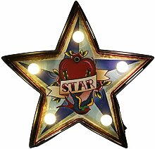 Temerity Jones Deko-Wandlampe CARNIVAL SMALL STAR