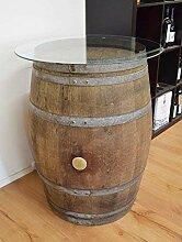 Temesso Dekofass, Stehtisch aus echtem Weinfass,