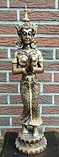 Tempelwächter Figur Buddha Tempeltänzerin Dekofigur