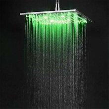 Temperaturgeregelter LED-Duschkopf mit festem