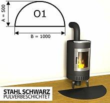 Temprix Kaminbodenplatte Funkenschutzplatte -