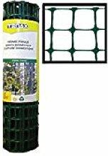 Tenax Gartenzaun aus Polyethylen, 7,6 m x 61 cm (L