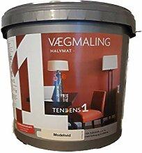 Tendens 1 Wandfarbe Innen seidenmatt 4,5 Liter