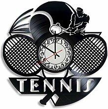 Tennis Art – Wanduhr Tennis Geschenke Frauen