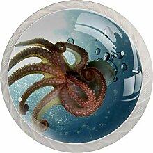 Tentakel Octopus Schrankknäufe Kommode Schublade