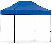 Tentastic Pro Faltpavillon 32 mm Edelstahl - 2 m x 3 m [blau]