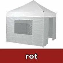 Tentastic Seitenwände Set PP18 für Pavillon 3x6 - ro