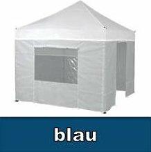 Tentastic Seitenwandset Pro Pavillon 2 x 3 m - blau