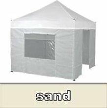 Tentastic Seitenwandset Pro Pavillon 2 x 3 m - sand