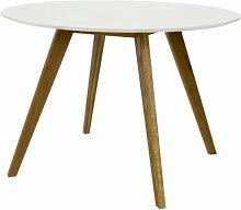Tenzo 2181-001 Bess - Designer Esstisch rund,