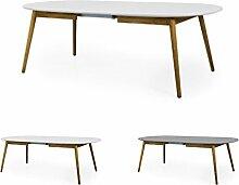 Tenzo Dot 1686-001 Designer Esstisch, Oval,