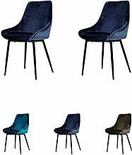 Tenzo Lex Designer Stuhl, Stahl, Nacht Blau /