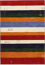 TEPPICH 140/190 cm Blau, Grün, Multicolor, Rot,