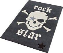 Teppich 702, Rock STAR Baby, rechteckig, Höhe 10
