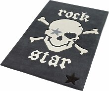Teppich, 702, Rock STAR Baby, rechteckig, Höhe 10