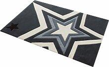 Teppich, 704, Rock STAR Baby, rechteckig, Höhe 10
