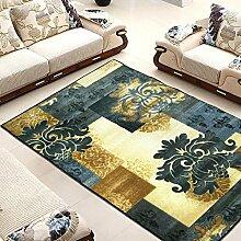 Teppich Abstrakt Türkisches Schlafzimmer Teppich, Wohnzimmer, Sofa Teppich - Nachttischdecke ( Farbe : A , größe : 133*190cm )