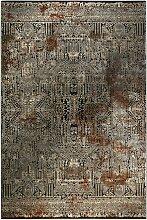 Teppich Adcock in Braun Canora Grey