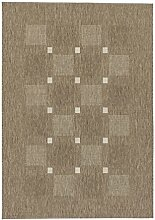 Teppich Andria - 6511-163-084 - taupe - 160 x 230 cm - Vorleger, Läufer, Gallerie, Teppich - Design: Streifen - Vielseitig und Individuell – Nicht nur im Wohnzimmer, sondern auch in der Küche und im Flur macht dieser Teppich eine gute Figur und ist dabei besonders pflegeleicht. Mit seinen vier verschiedenen Designs in drei Farbstellungen, ist er nicht nur flexibel anwendbar, sondern verleiht dazu jedem Raum einen natürlichen und zeitlosen Look.