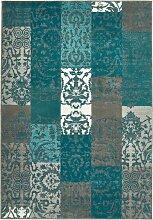 Teppich Anna, blau (60/110 cm)