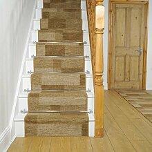 Teppich Antani für Treppen in Braun
