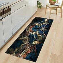 Teppich,Anti-Schmutz-Anti-Rutsch-Teppich Mit