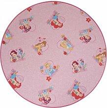 Teppich Arielle in Rosa Disney Princess