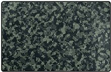Teppich, Armee-Camouflage-Muster,
