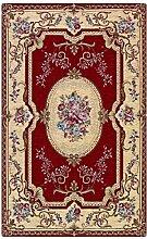 Teppich Aubusson rot Stil Klassisch Französisch Cm. 65x300 ro