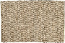 Teppich aus Baumwolle und Jute 140x200