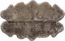 Teppich aus Schaffell, beige, 110x180
