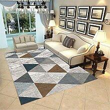 Teppich babyzimmer deko Graubraunes Dreieck