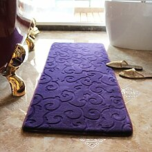 Teppich badezimmer wasseraufnahme matte