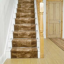 Teppich Basurto für Treppen in Braun
