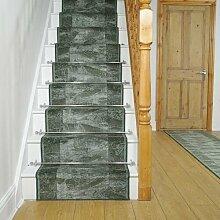 Teppich Basurto für Treppen in Grün