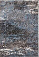 Teppich Bergen, blau (120/170 cm)
